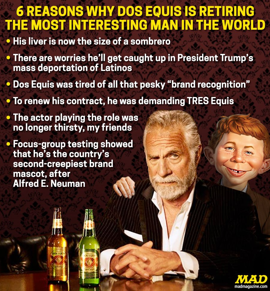 Most Interesting Man In The World Quotes: MAD Magazine (@MADmagazine)