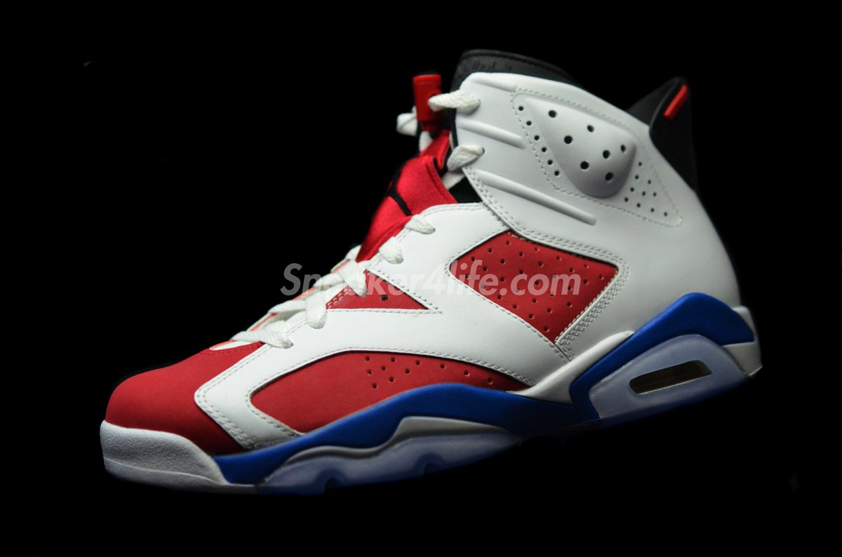 finest selection bea68 966a1 ... wholesale sneaker4life on twitter air jordan 6 original carmine  september blue t.co jlzitfqd6o t