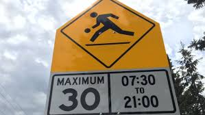 Please remember to slow down in Playground Zones.  In effect every day from 7:30am to 9pm. https://t.co/KXemoxUwFp