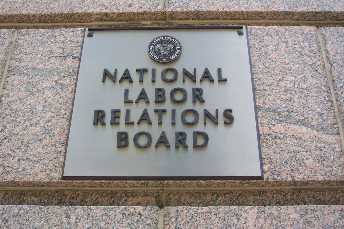 Poetic justice: @NLRB caught not bargaining in good faith w/ its own union: https://t.co/JsqmfTwWxO https://t.co/DSu20euzl6