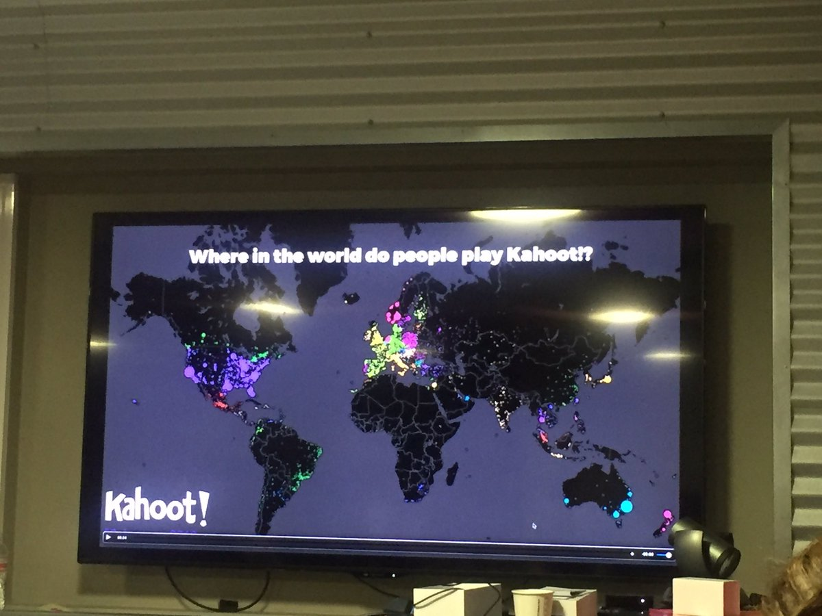 Make Learning Global. You can connect with other classrooms around the world using @GetKahoot #SXSWedu #SXSWedu2016 https://t.co/pMVtuLcLg4