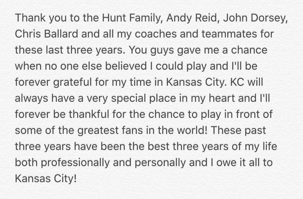 Thank you Kansas City... https://t.co/KfPFWTRk49