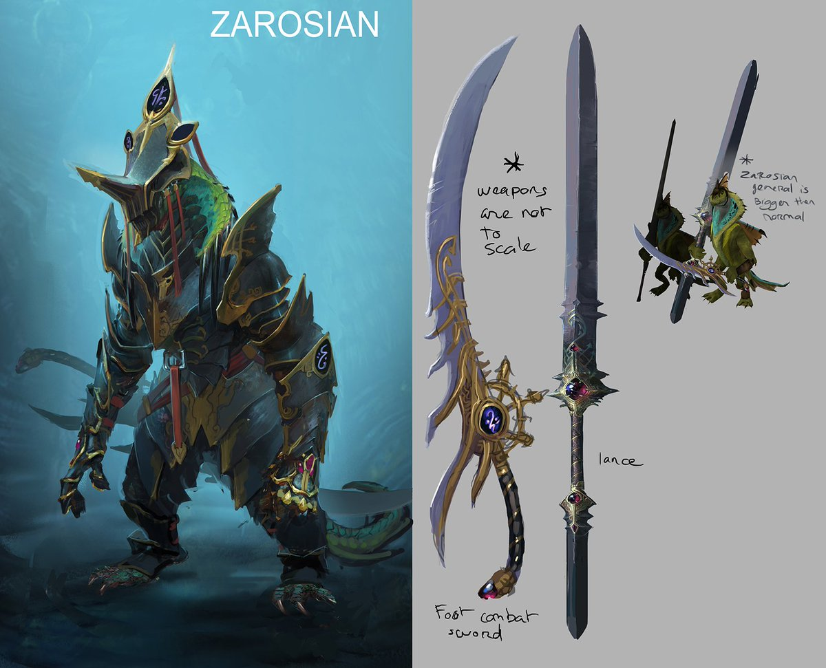 Runescape On Twitter Icymi Concepts For The 4 New Gwd2 Generals