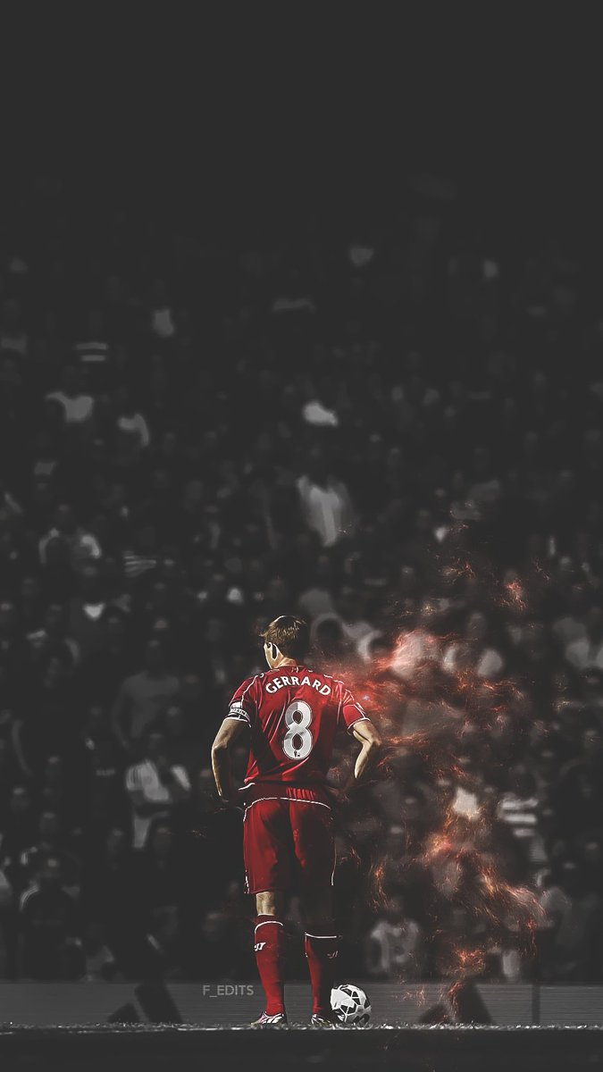 Fredrik En Twitter Steven Gerrard Mobile Wallpaper And