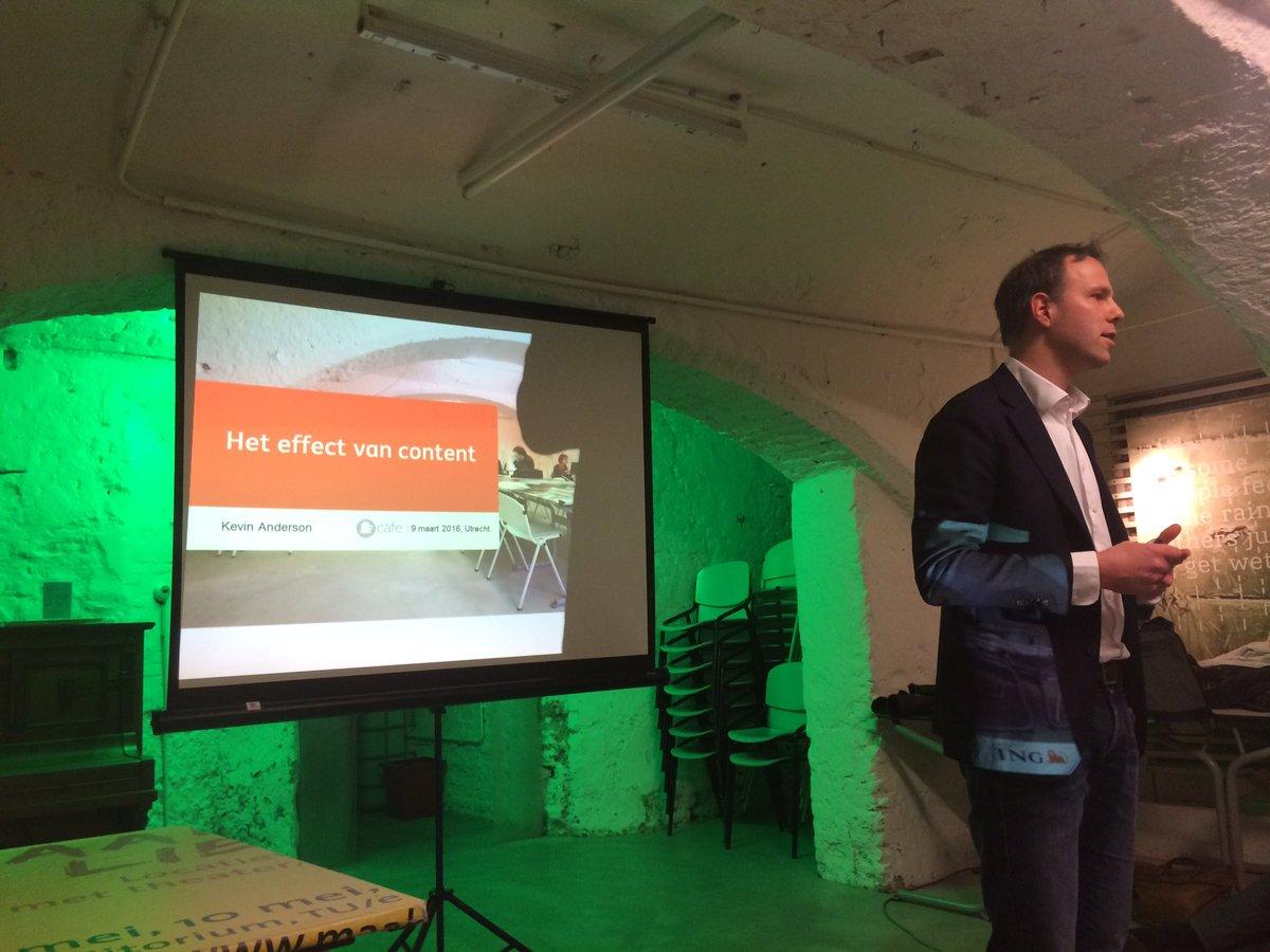'Meten is weten' is het thema van #Contentcafe vanavond, met als 1e spreker Kevin Anderson. https://t.co/y9JibXhHgF