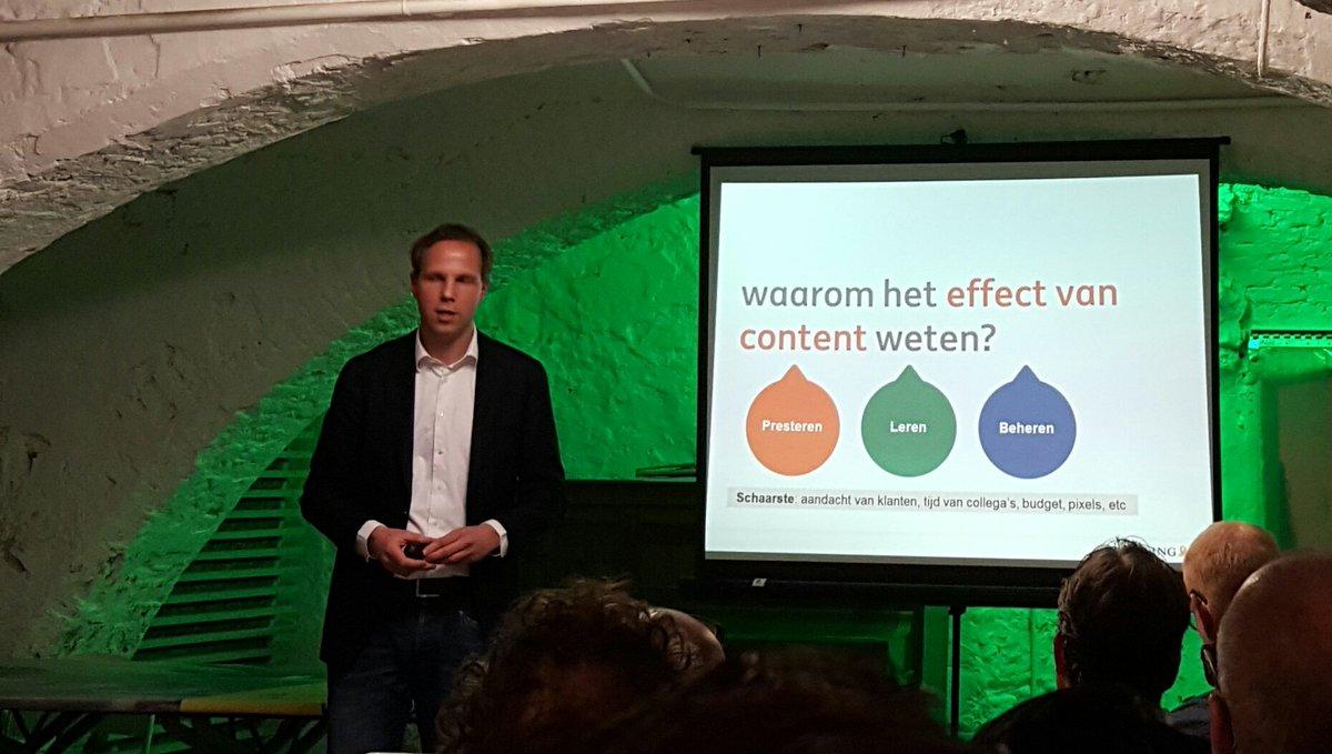 Waarom wil je het effect van #content meten en weten? Via @kevinanderson @contentcafe https://t.co/0yVDiiMg7S
