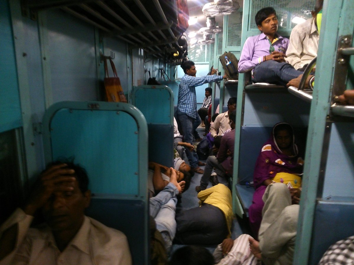 Man live-tweets his 16-day train journey across the length and breadth of India