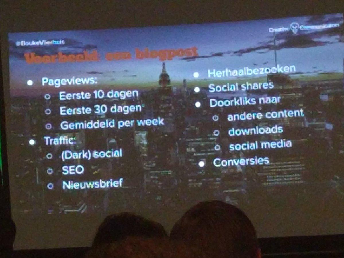 Wat je echt wilt weten van je blog post. @BoukeVlierhuis #contentcafe https://t.co/F41u4hAnYt