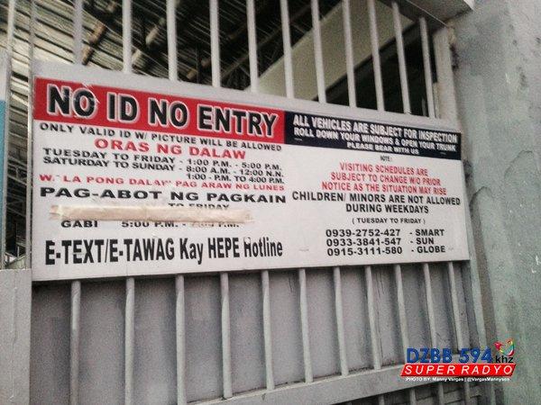Tensyon Makati City Jail : Tensyon Makati City Jail humupa