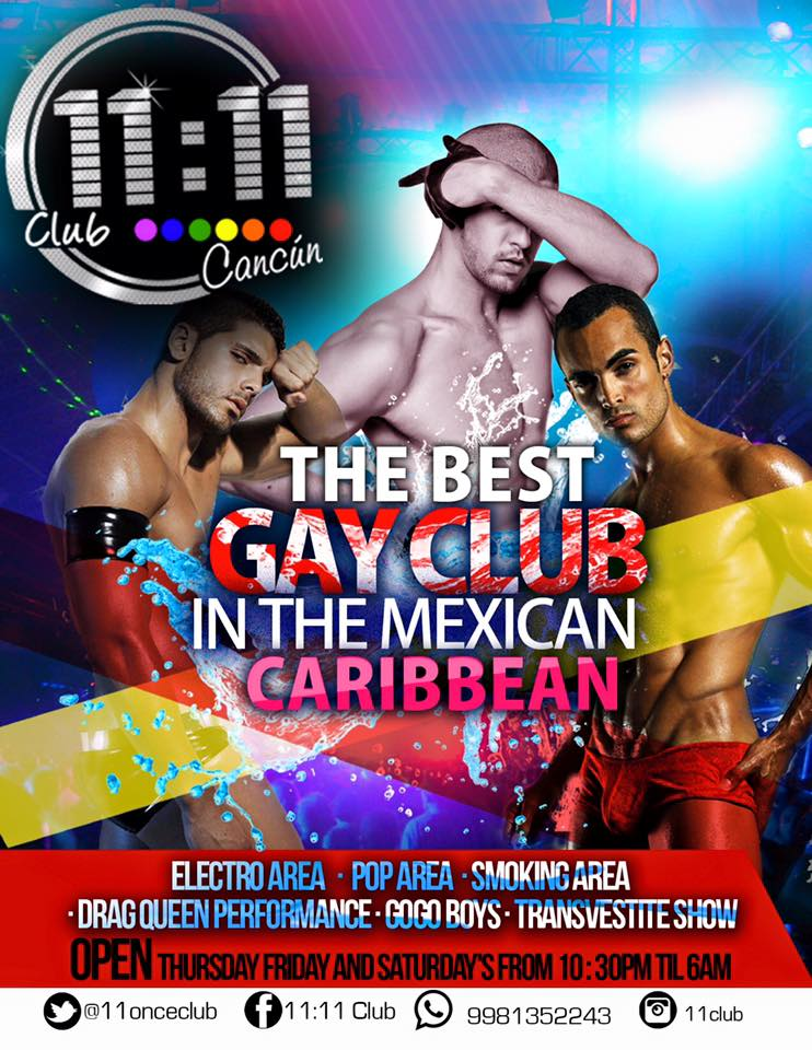 cancun club gay in