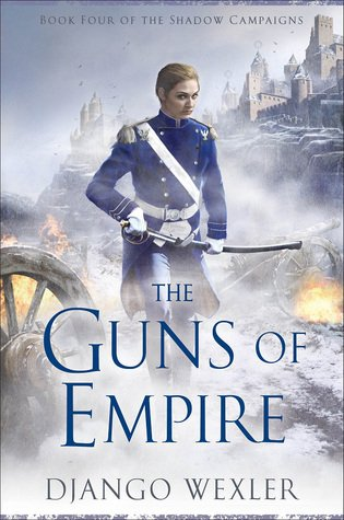 Waiting on Wednesday: This week I'm waiting on THE GUNS OF EMPIRE by @DjangoWexler https://t.co/JZ0GmgqcI3 https://t.co/gW1eGfQ9RR