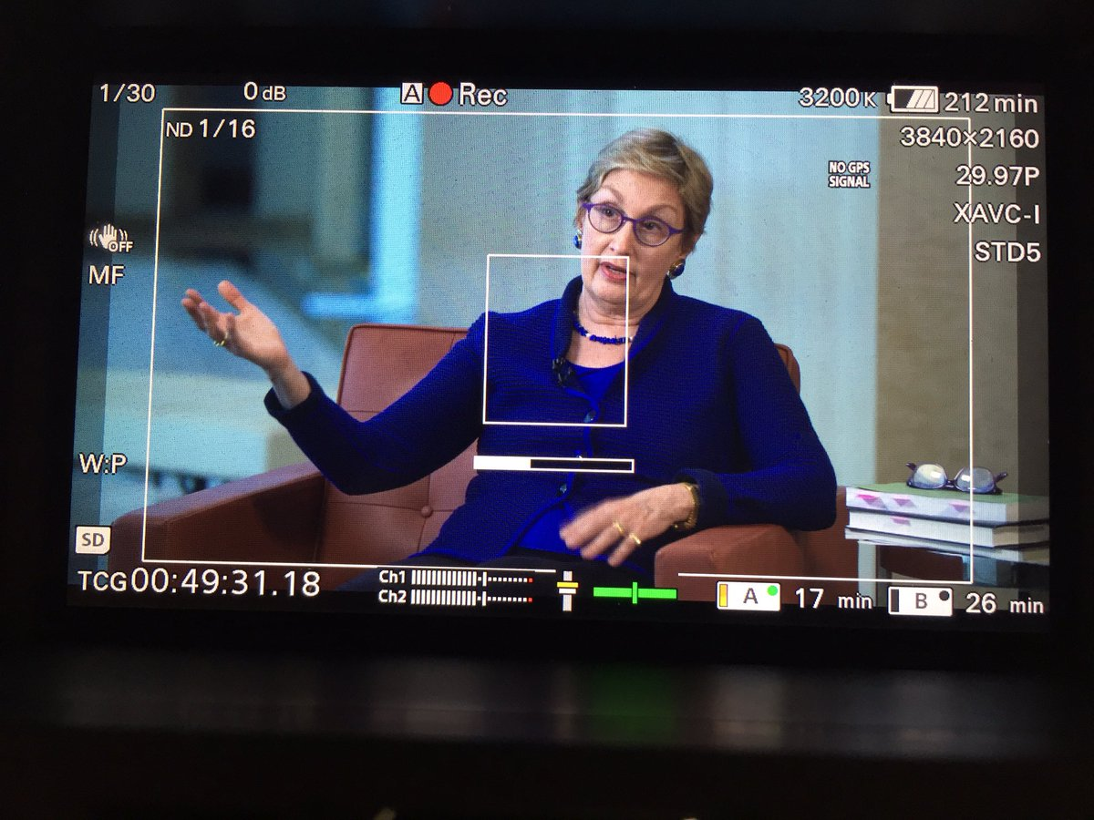 Interviewed today Jamie Gorelick first Commission on Critical Infrastructure Protection @MichaelHardyNet