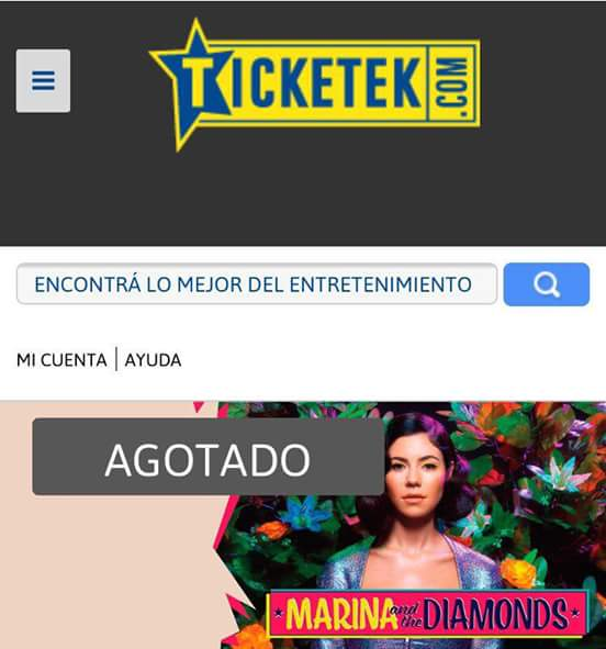 Dear @MarinasDiamonds: Do you know that your #sideshow in Argentina is already SOLD OUT? UR ARGENTINE DIAMONDS RULE! https://t.co/zqXxkEA8RL