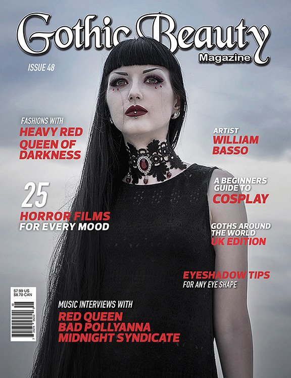 THIS SAT MARCH 12 - RELEASE PARTY at Sinister for the NEW @GothicBeautyMag Issue! Arrive early for your FREE COPY! https://t.co/yPKnEibbMv