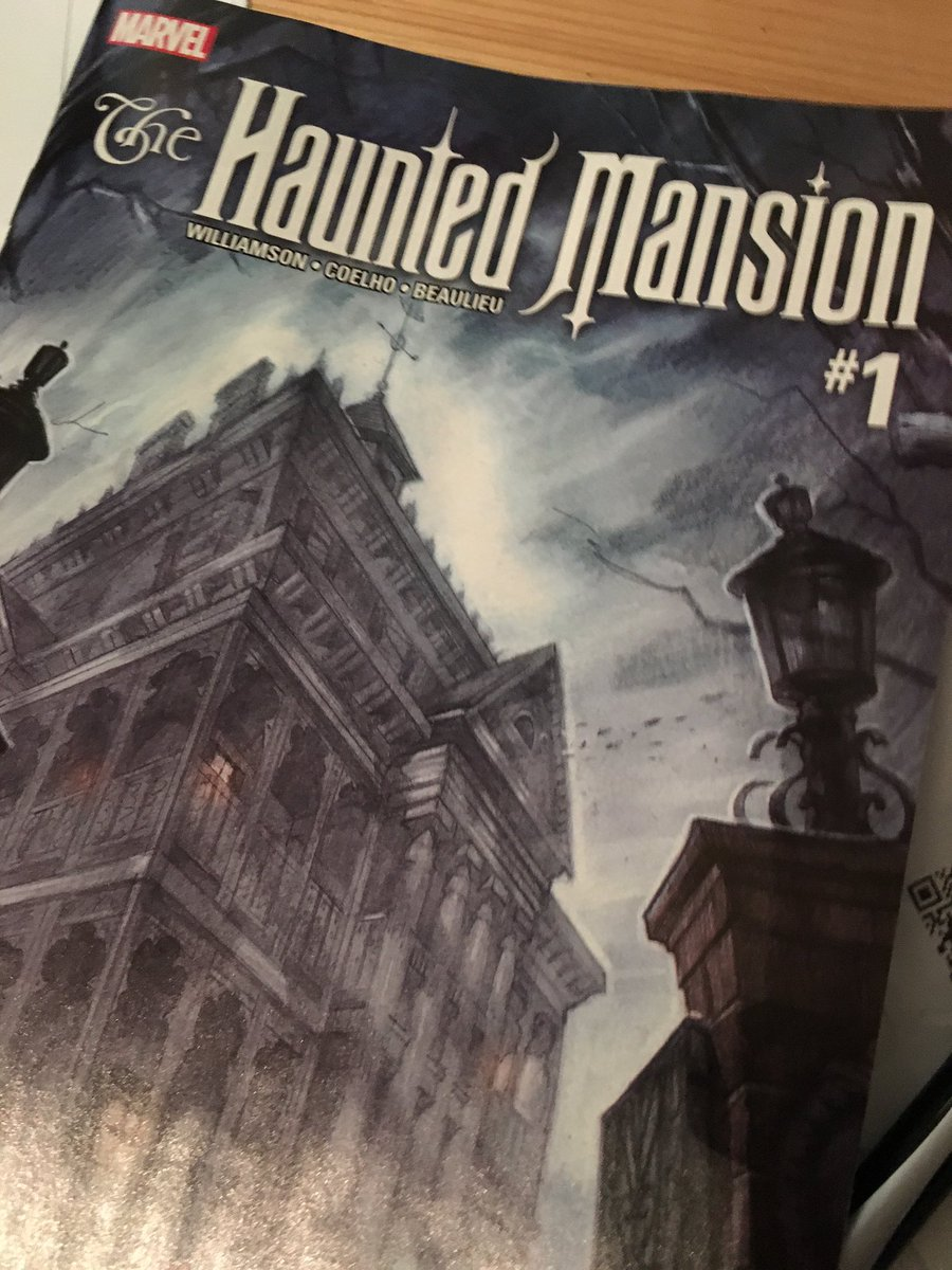 I've been... dying to read this. @DisneyKingdoms @TomKMorris @shipleyland #Marvel #999happyhaunts https://t.co/zt5hXVi2jk