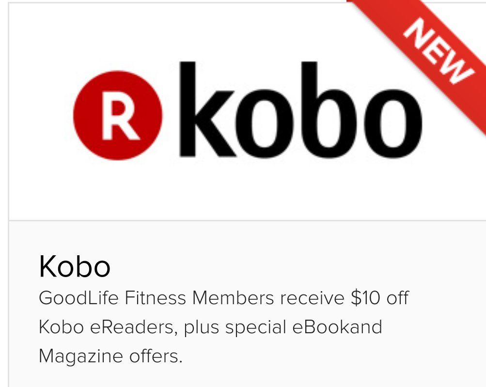 Brad Warren On Twitter Kobo New Addition To The Goodlife