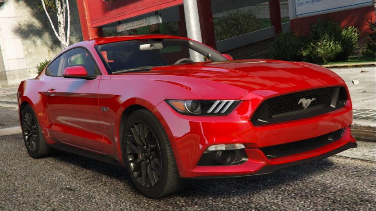Gta5mods On Twitter \aige's Latest Is A Knockout 2015 Ford Rhtwitter: Ford Mustang Gta 5 Location At Gmaili.net