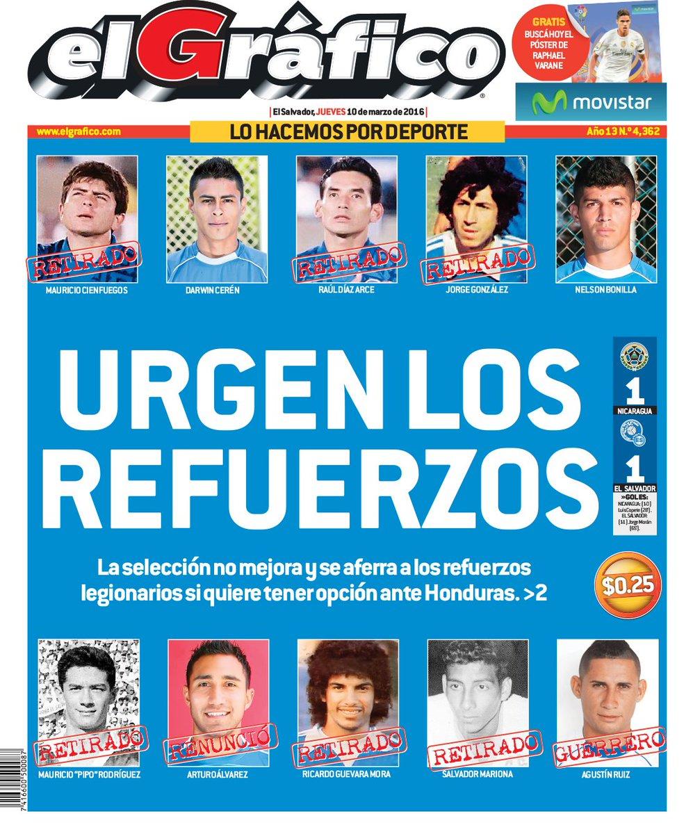 9-3-2016 - Amistoso El Salvador 1 Nicaragua 1. CdKWf0IWwAExzWs