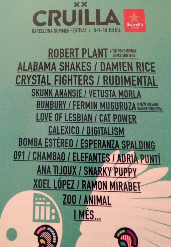 Cruilla Festival 2020 CdL2VfrUEAAKpAD