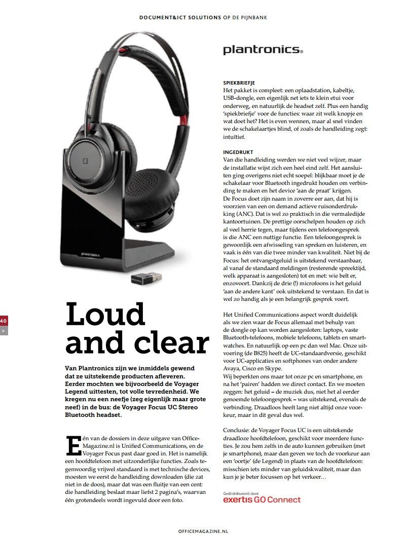 d31b72879e3 Stephen vd Meerakker 2016-03-10 RT @exertisbenelux: Mooie review van de  #Plantronics Voyager Focus UC stereo #bluetooth #headset in de maart-editie  van ...