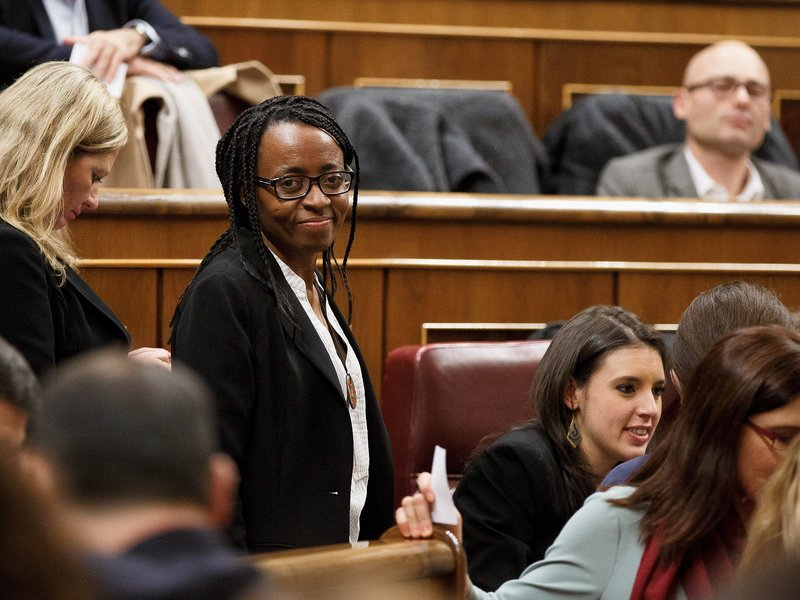 Spain's First Black Member Of Parliament And The 'New Politics' https://t.co/dnbDkuXwli https://t.co/D6ozpf0Ln0