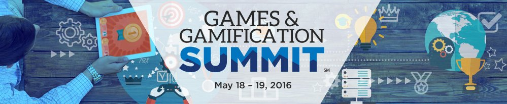 Join us for our first-ever Games & Gamification Summit, an online event May 18 & 19. https://t.co/shUjAZXq6d https://t.co/aDTflfRfTC