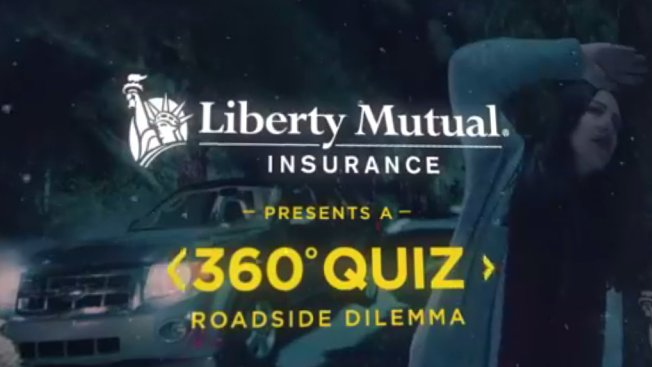 Liberty Mutual tries out virtual reality with a choose-your-own-adventure Facebook video: http://adweek.it/1nzjjj5
