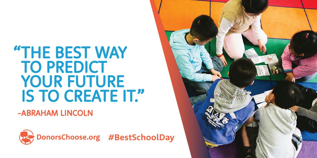 50 philanthropists have helped us fully fund 11,000 classrooms today. Happy #BestSchoolDay! https://t.co/gMRWRPGlxT https://t.co/E7a335YuCa
