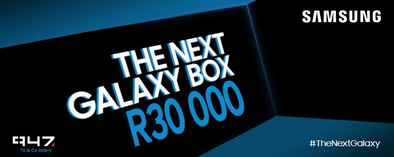 5000 #TheNextGalaxy retweets in 30 mins unlock the box! RT & you stand a chance to WIN R30000 with @SamsungMobileSA https://t.co/xLPQbDPIU0