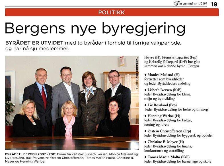 Kjære @erna_solberg. Bergen har hatt byregjering i 16 år. Parlamentarisme ble innført i år 2000
