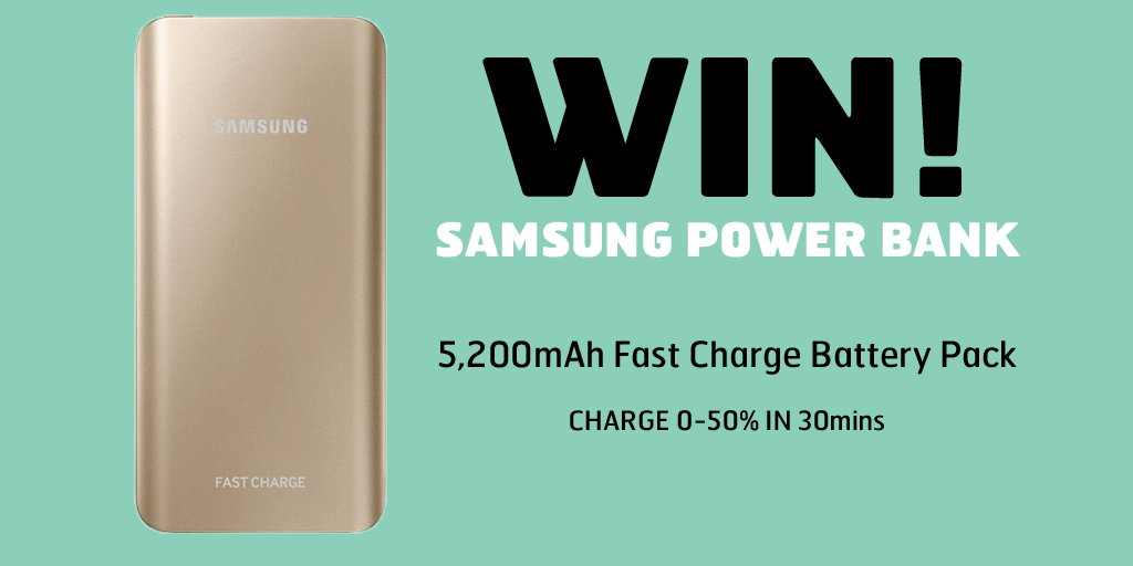 #GalaxyS7isHere Giveaway! RT + FLW for a chance to win a Gold #Samsung Power Bank (...works with the #GalaxyS6 too!) https://t.co/dvT3FjNQSi