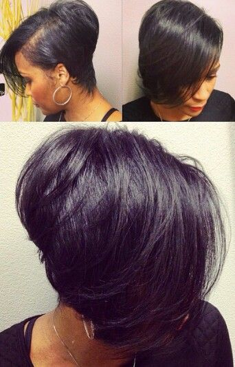 Bob Hairstyles Back And Front Views Black Women