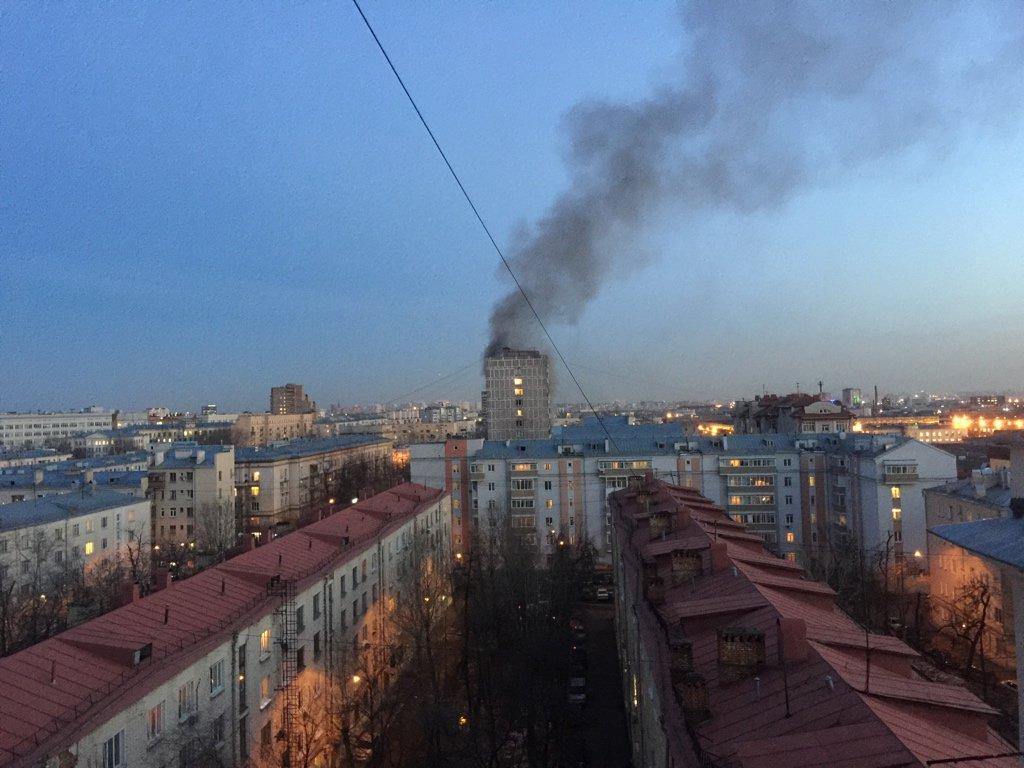 Взрыв в жилом доме у метро «Авиамоторная» в Москве