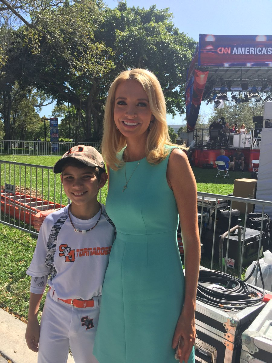 Kayleigh Mcenany On Twitter Terrypio Gilmartinsean Univmiami Umadmission Nice Meeting You Your Ambitious Son Benjamin Great To Have Big Dreams Such A Young Age