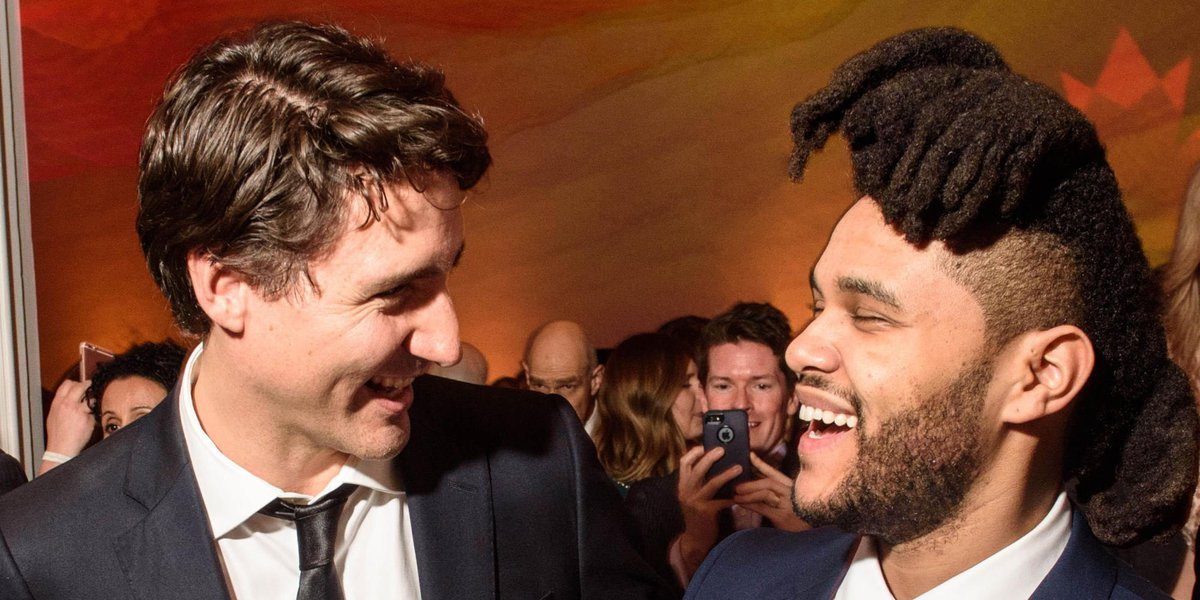 The Weeknd and PM Trudeau hung out in Washington. NBD. https://t.co/1ywqIfmSY6