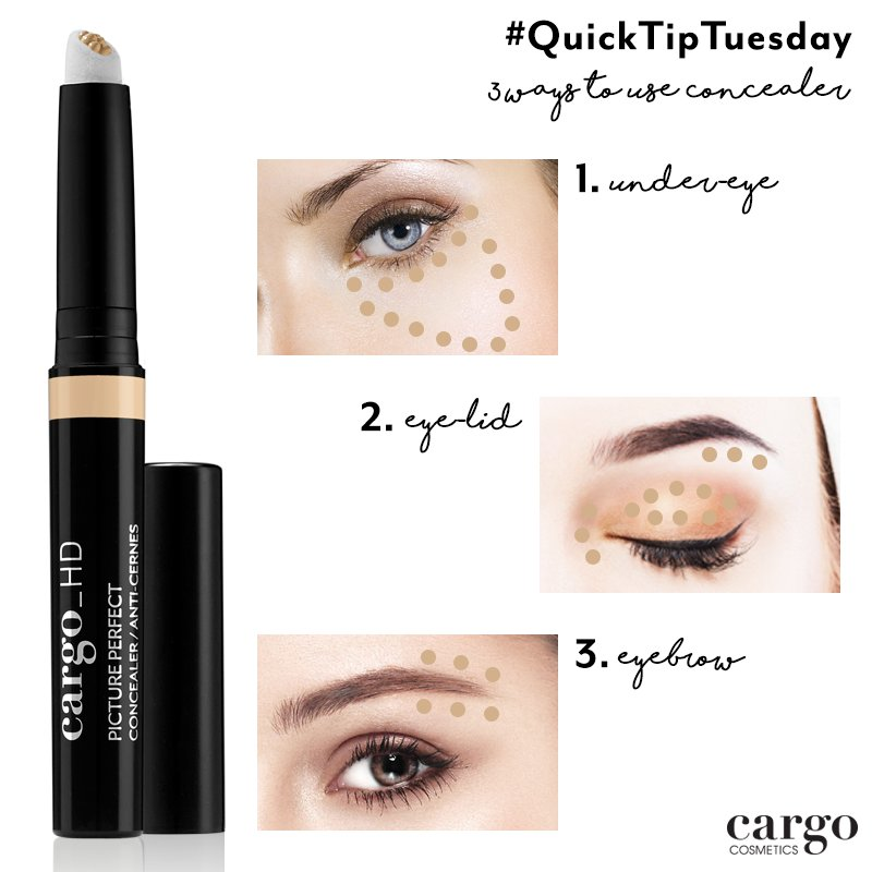 Cargo Cosmetics On Twitter Quicktiptuesday Double Up Our Hd