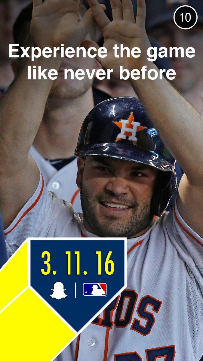 Houston astros snapchat