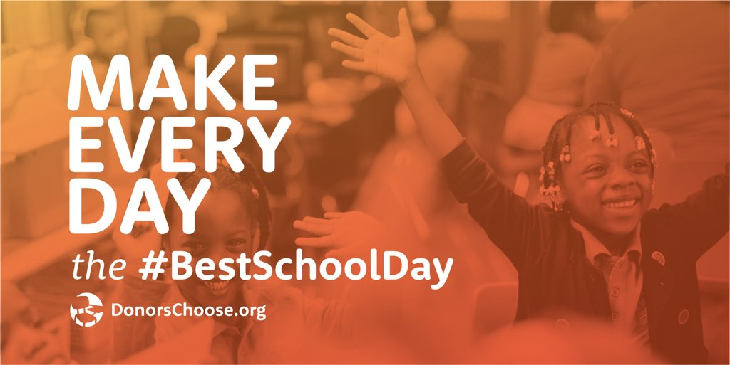 Make every day the #BestSchoolDay youtube.com/watch?v=o-606y…