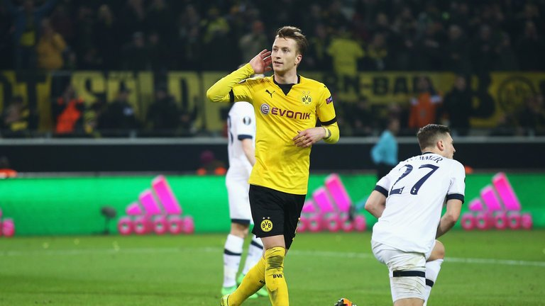 Video: Borussia Dortmund vs Tottenham Hotspur