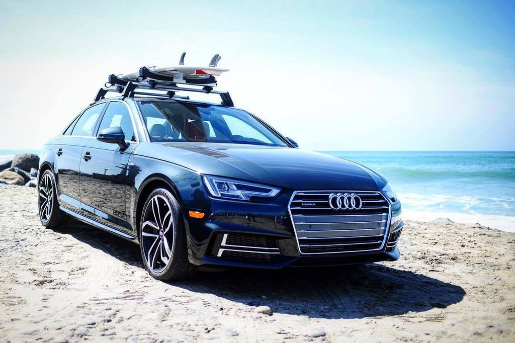 The all-new 2017 @audi #A4 looks great wearing a rack because #IntelligenceIs the new surf… https://t.co/PQHBybzj3F https://t.co/6U5vtoCjVS
