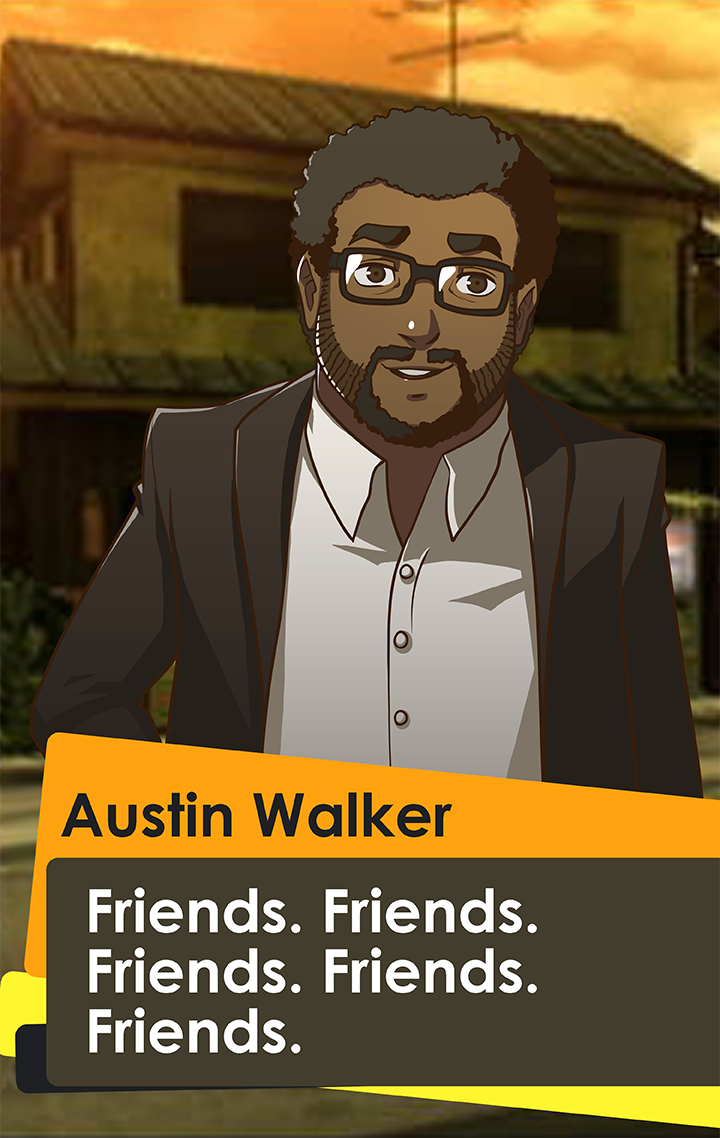 It's finally here! SupernormalStep has envisioned @austin_walker as a Persona 4 character: https://t.co/ihmaVDJO3z https://t.co/NAMsJ7eJnH