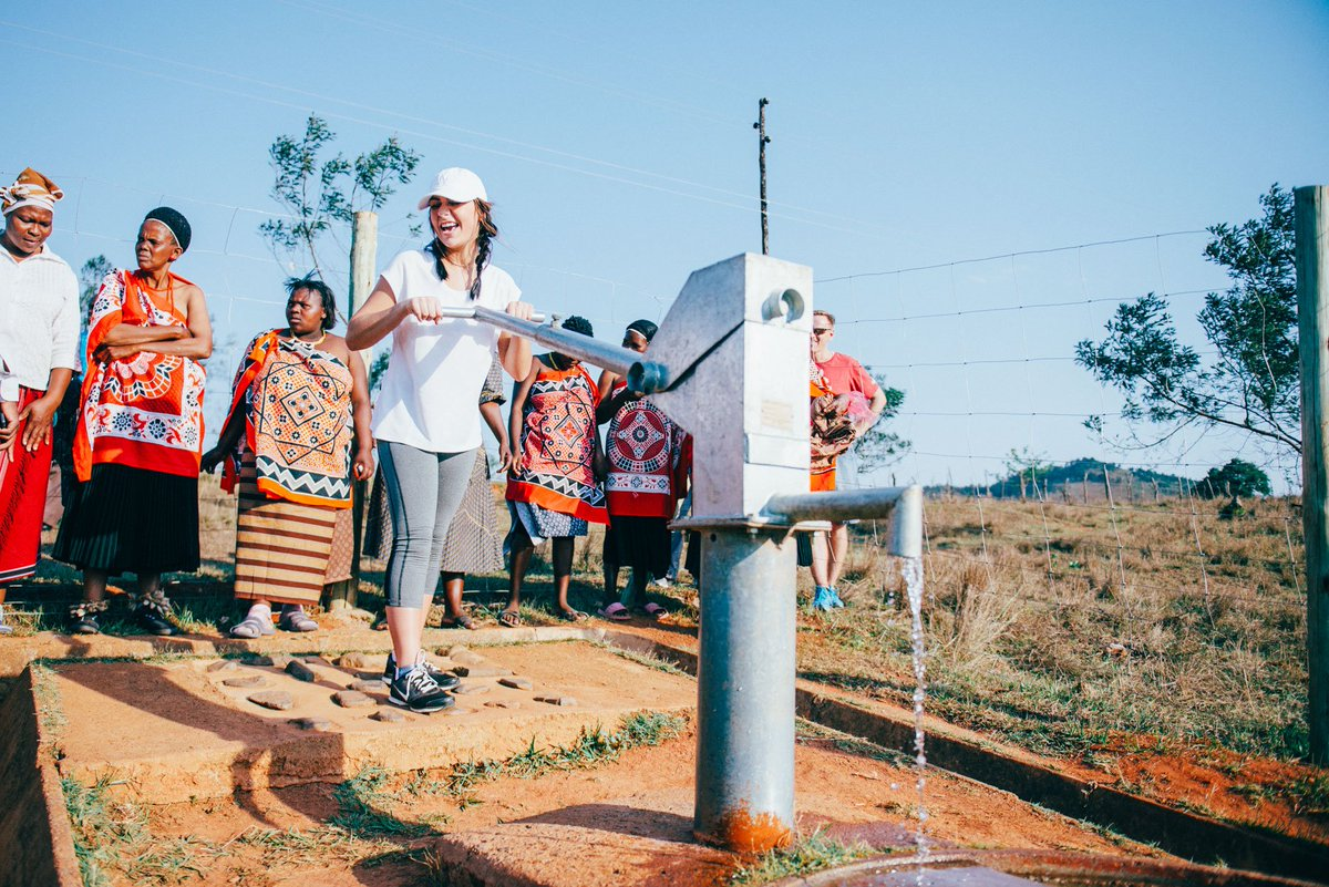 Mbuluzane, Swaziland has clean water and @AndreaRussett was there to witness the impact of clean water! #SWAZI2022 https://t.co/b8mKu2KwLX