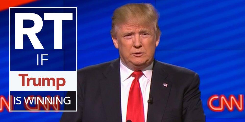 RETWEET and VOTE if you think @realDonaldTrump is winning the #CNNDebate! https://t.co/u1TzKTo3NU https://t.co/fcF2lwQ5Ye