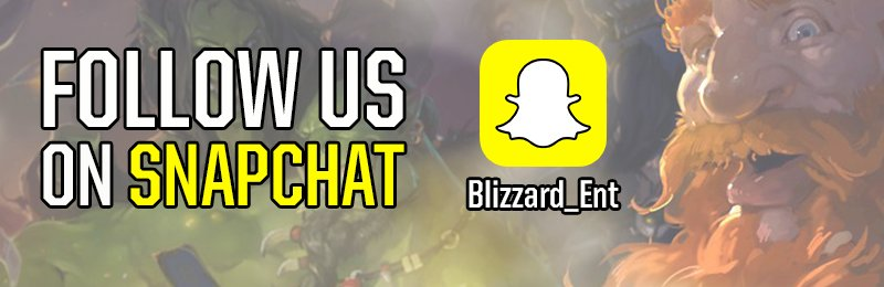 Blizzard Ent. on Twitter