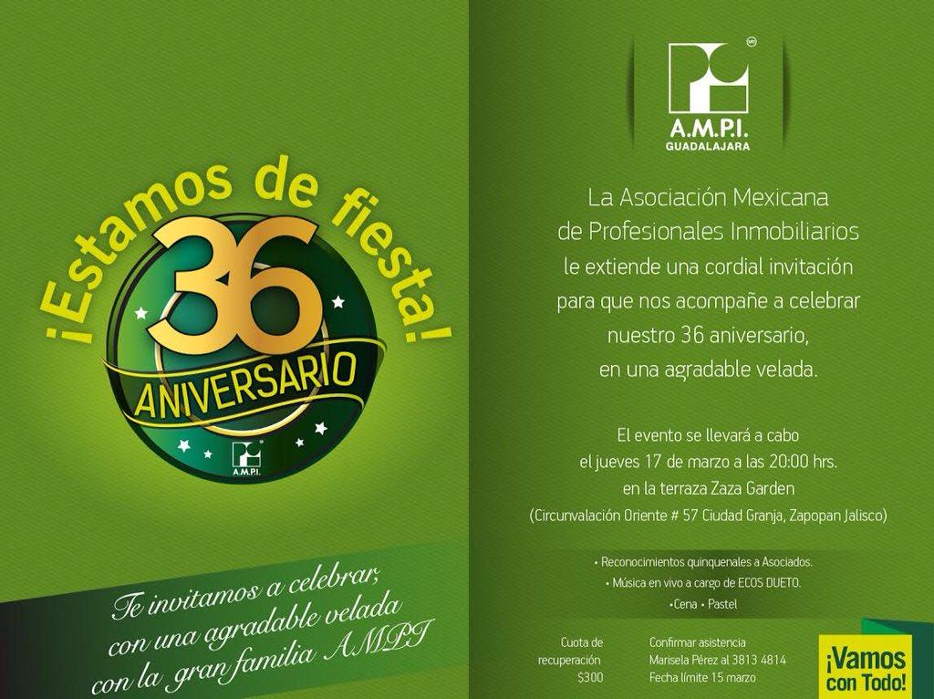 Ampi Guadalajara On Twitter Estamos De Fiesta Ven A
