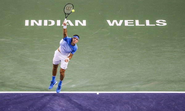 Delpo Indian Wells - La Nación