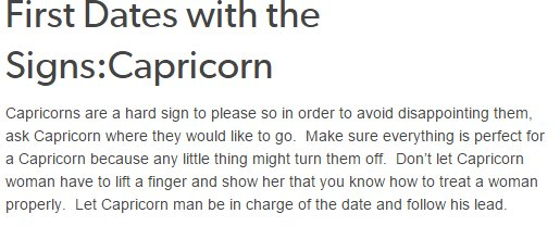 What Are The Dates Of Capricorn