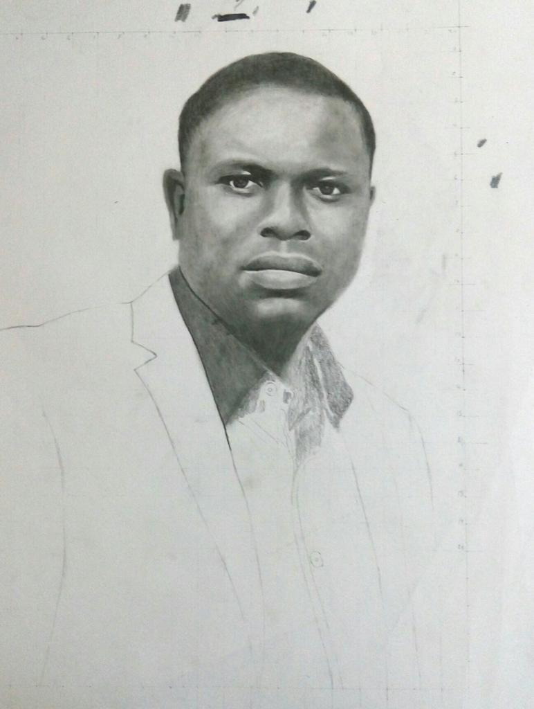 Nigeria art drawing pencil sketch artwork portrait artist worldofartists realism creative artbrospic twitter com 2jbrvujnph