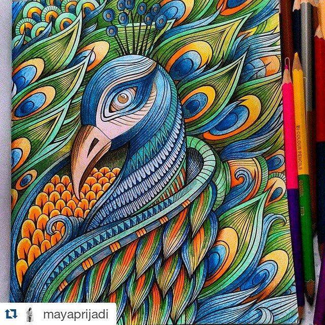 Penerbit Renebook On Twitter MyOwnWorld 1st Coloring Book For Adults In Indonesia Rp69000 Hotline 085100573324 JumatBerkah SosmedPediaCom