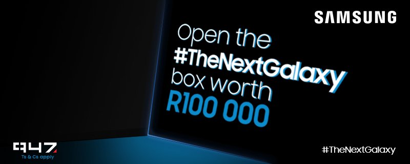 10000 #TheNextGalaxy RTs unlock the box! RT & you could WIN R50k cash + R50k worth of @SamsungMobileSA products. https://t.co/2E3jmYDj04
